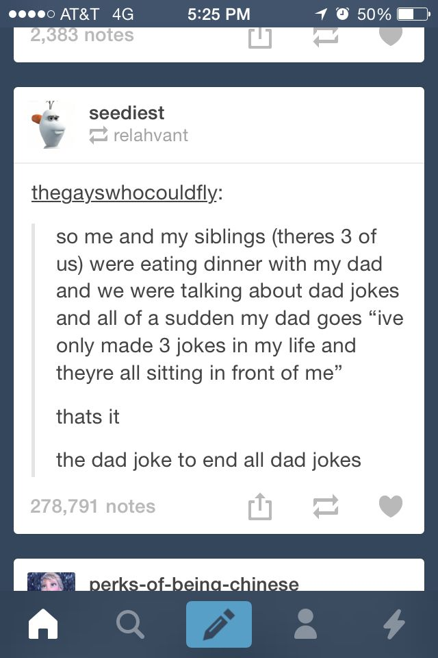 the dad joke that beats all dad jokes