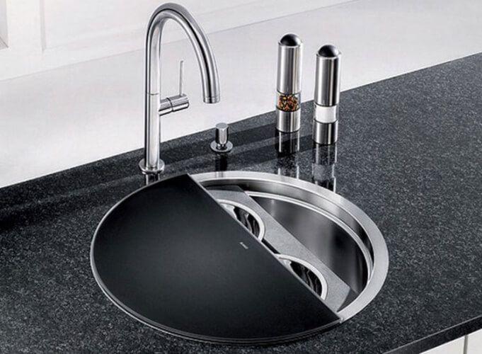 15 Impressive Corner Kitchen Sink Design Ideas Part 31
