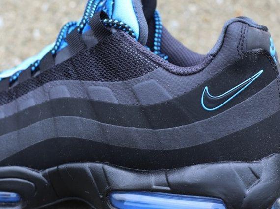 b0f27a47f5 ... nike air max 95 no sew white black anthracite Nike Air Max 95 No Sew  Black ...