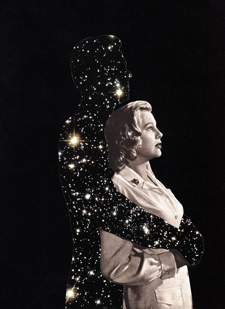 Joe Webb - man made of stars, the embrace of the universe.