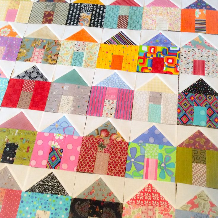A Quilting Life - a quilt blog: House Quilt Blocks