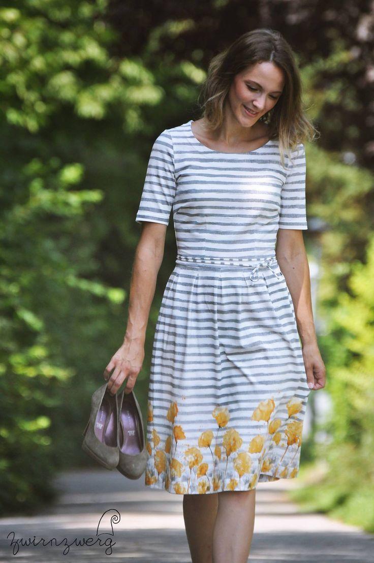 frederike | kleider damen, damenkleider, schnittmuster kleid
