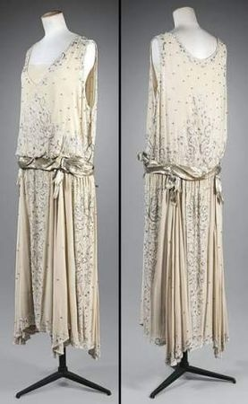 Chanel - c. 1923 - Dress design by Gabrielle 'Coco' Chanel