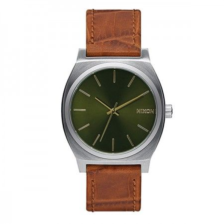 A0451888 Nixon Time Teller Saddle Gator  Visit our store: www.watchworldindonesia.com