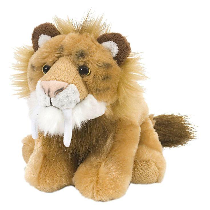 NHM Museum Store   Plush Smilodon - Plush - Toys & Games - Category