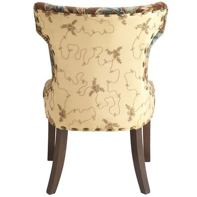 Hourglass dining chair peacock floral shopping obsessions pinterest chairs - Pier one peacock chair ...