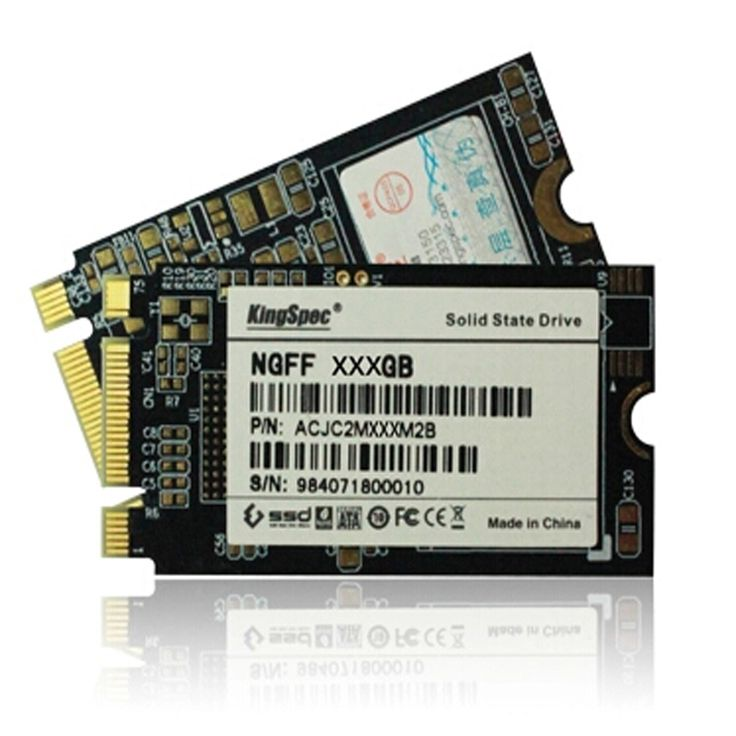 Brand new kingspec PCle NGFF M.2 SSD 64GB 128GB solid state hard drive disk 22x42mm MLC flash for Lenovo Thinkpad laptop server