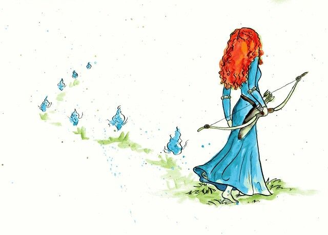 Merida and the Will O' The Wisps, BEAUTIMUS!!
