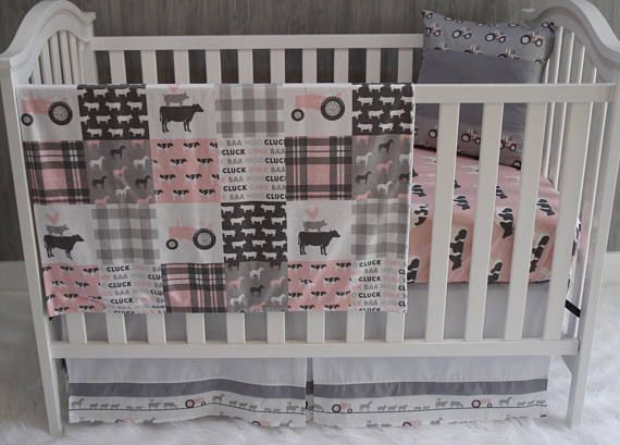 Nursery Bedding Set Baby Farm Life