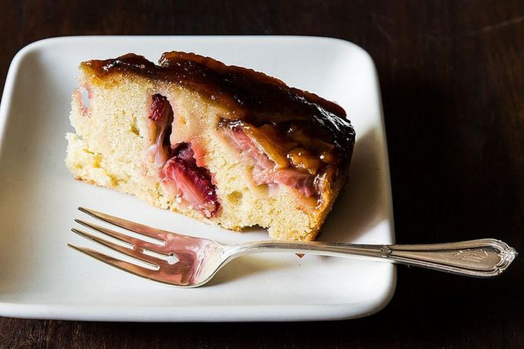 Strawberry Balsamic and Olive Oil Breakfast Cake-Food 52