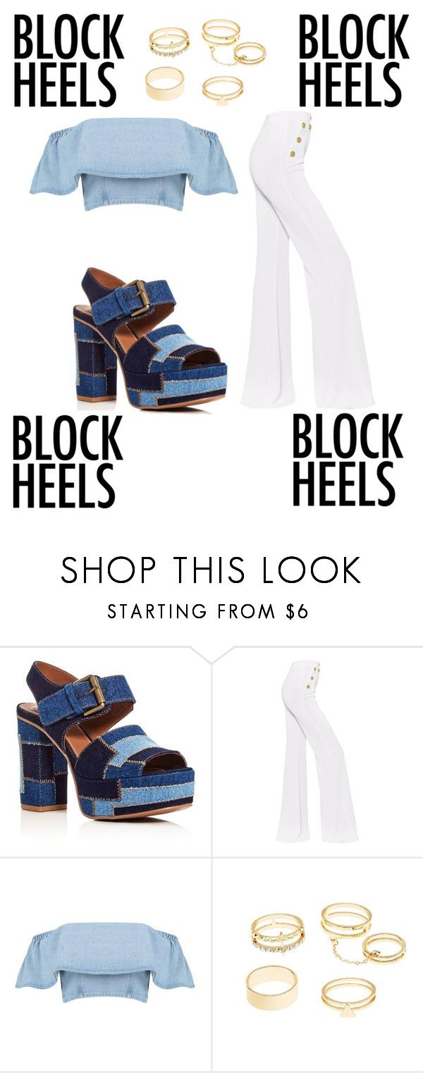 """""""Une petite torsion sur le costume bleu"""" by zoecrepp ❤ liked on Polyvore featuring See by Chloé, Balmain and Charlotte Russe"""