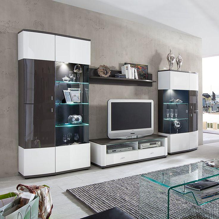 25 melhores ideias sobre wohnwand hochglanz no pinterest tv wand hochglanz ikea h ngelampe e. Black Bedroom Furniture Sets. Home Design Ideas