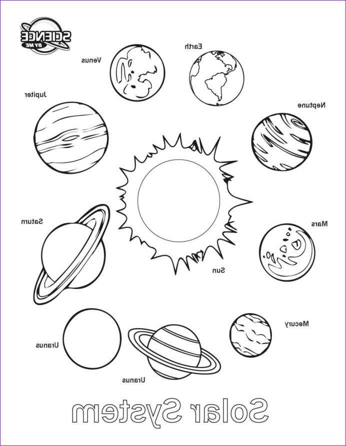 Abeka 3rd Grade Math Worksheets Coloring solar System