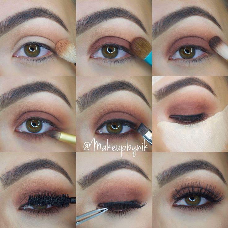 Step by step using Kat Von D Shade+Light Eye Palette. For full details follow @Makeupbynik on Instagram!!!❤️