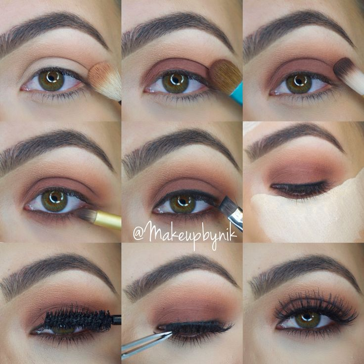 Step by step using Kat Von D Shade+Light Eye Palette. For full details follow @Makeupbynik on Instagram!!!❤️