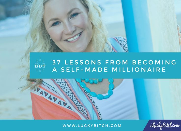 37 Lessons from Becoming a Self-Made Millionaire, clearing money blocks, Denise Duffield-Thomas, Lucky Bitch (affiliate link)