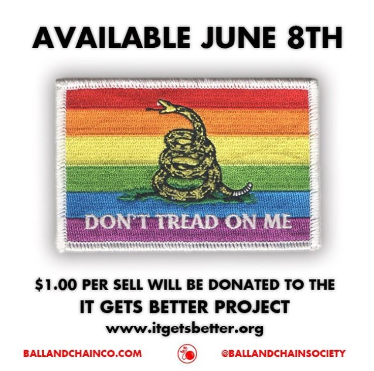 Ball & Chain Co. Dont tread on me, Fun projects, It gets