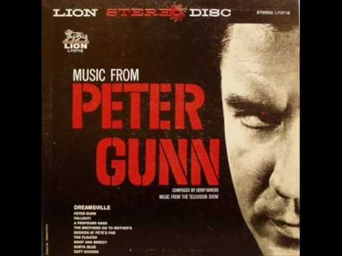 Henry Mancini - Peter Gunn theme. First introduction to the music of Henry Mancini. Right after watching the movie I had to run out & get the soundtrack. Funny, don't remember all of the movie, I liked it, but it was the music that stuck with me.