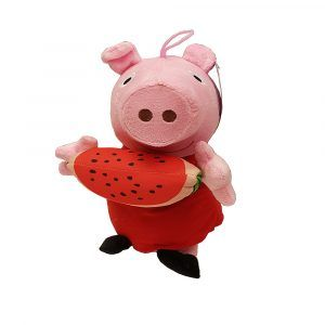 Peppa Pig Watermelon Plush Toys Unique design by PlushDirect based on the Nickelodeon show, Peppa Pig