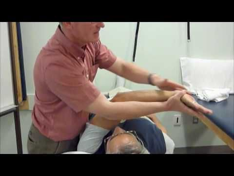 arom pnf d1 lue flexion/extension elbow slightly