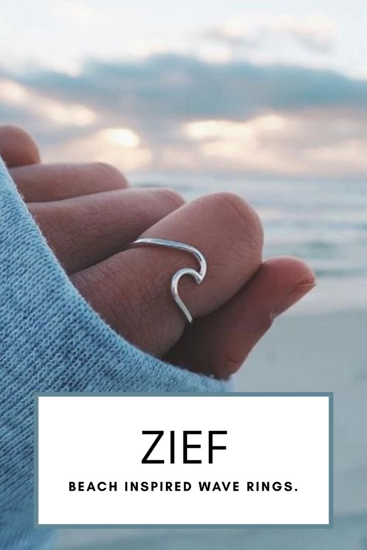 Zief - OMGGG girls are going crazy over our all bean beach inspired wave rings! Take a piece of the beach with you wherever you go. Get yours now before stock runs out!