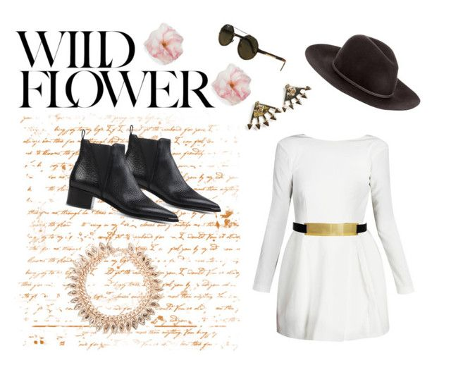 """Wildflower"" by styligion on Polyvore"