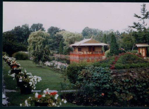 The Pagoda And Gardens At The Chinese Gardens In Syracuse Indiana Syracuse Wawasee Digital
