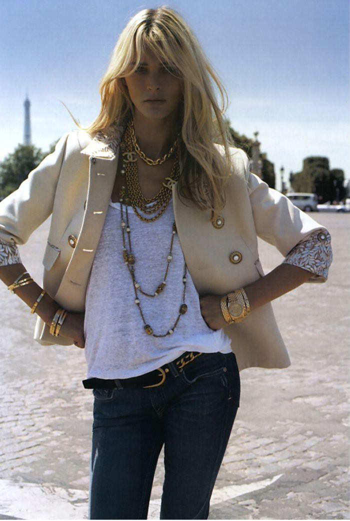 Carmen Kass by Terry Richardson, Vogue Paris 2006