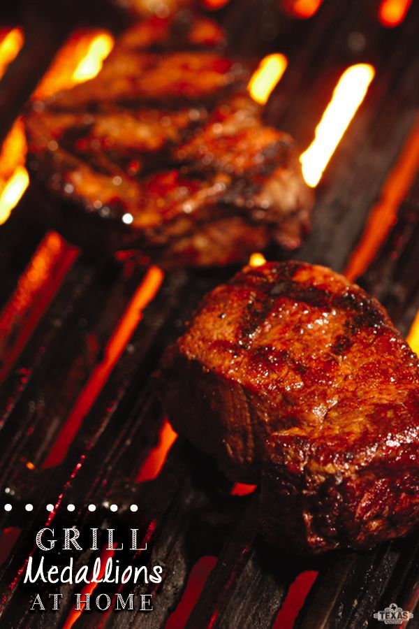 Must try! Grill medallions at home. The recipe is from Texas Roadhouse!!!!!!