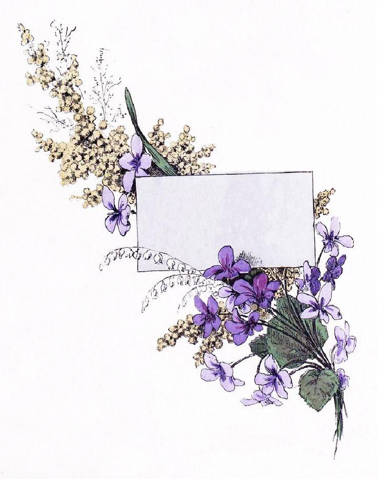 Vintage Floral Label ~ LÁMINAS VINTAGE,ANTIGUAS,RETRO Y POR EL ESTILO.... (pág. 375) | Aprender manualidades es facilisimo.com
