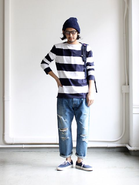 maillot Wide Pitch Border Long Tee