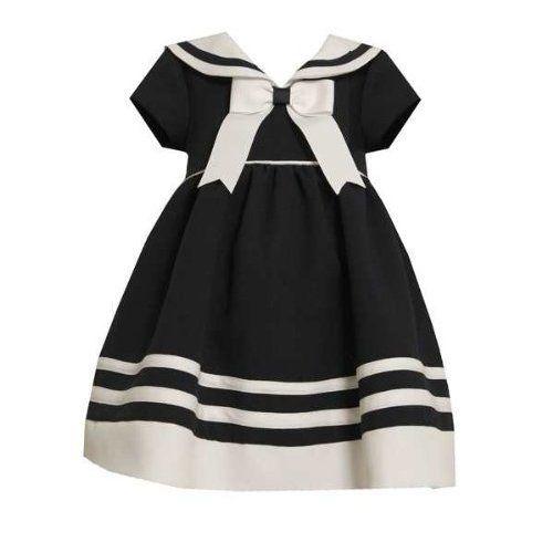 Bonnie Jean Baby Girls Sailor Nautical Spring Summer Dress