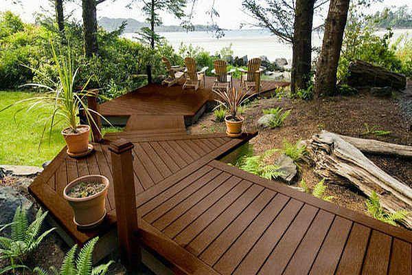 beach decking | Composite Decking Prices: Composite Decking Landscape Design Beach ...
