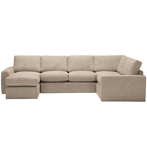 Buy House by John Lewis Finlay II LHF/RHF Modular Corner Chaise End Sofa Online at johnlewis.com
