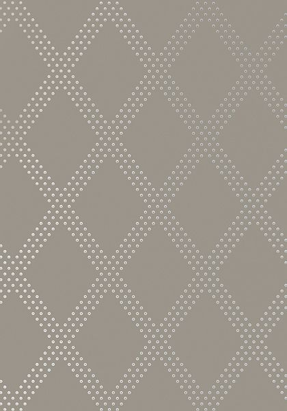 Brad #wallpaper in #silver on #charcoal from the Geometric Resource 2 collection. #Thibaut