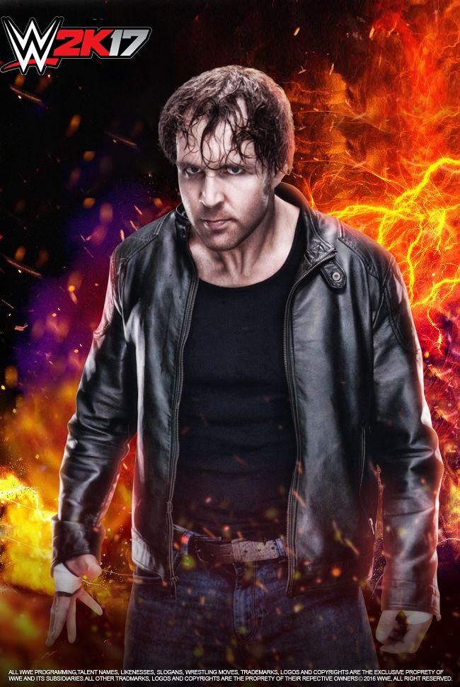 WWE Dean Ambrose W2K17 Poster by edaba7.deviantart.com on @DeviantArt