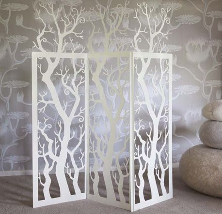 Tree screen from Tintown - so cool!