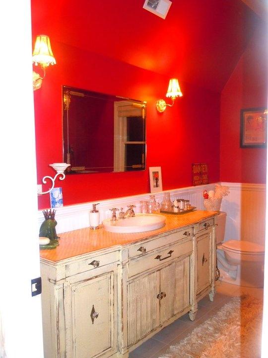 1890 Restored Farm House Loft Bathroom By Fiore Carpentry