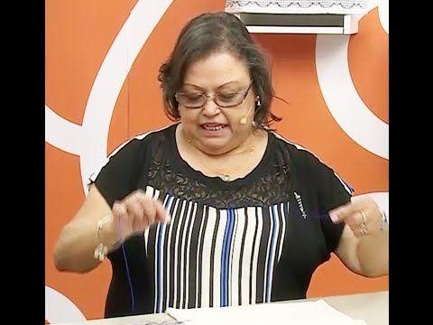 Toalha de Lavabo em ponto chama com Leila Jacob - YouTube