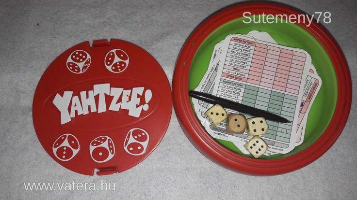 BS játék - Yahtzee - Kockapóker - játék  klasszikus kockajáték - 790 Ft - Nézd meg Te is Vaterán - Party társasjáték - http://www.vatera.hu/item/view/?cod=2499780566