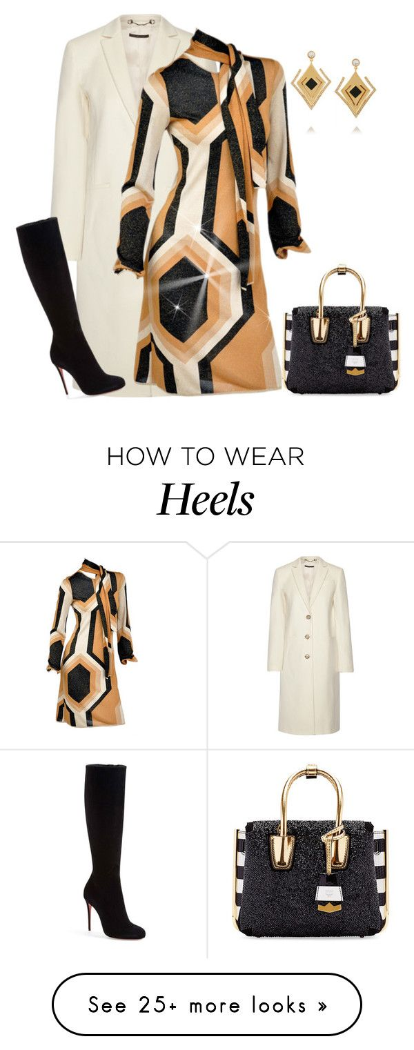 """outfit 3246"" by natalyag on Polyvore featuring Gucci, Tom Ford, Christian Louboutin, MCM, Kilian, women's clothing, women, female, woman and misses"