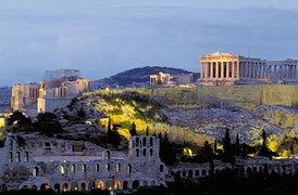 Acrópolis, Partenón, Atenas, Grecia