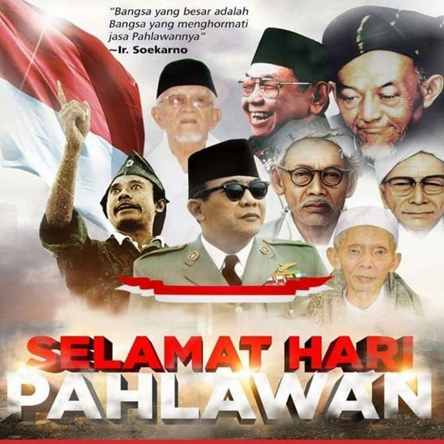 Selamat Hari Pahlawan 10 November Pahlawanindonesia Pahlawannasional Pahlawanrevolusi Seni Manga Gambar Seni