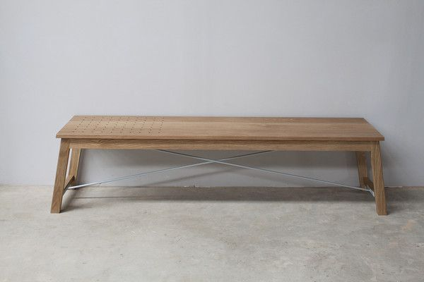 MSF Bench Seat designed and handmade by Maker Studio from Noosa Heads, Australia