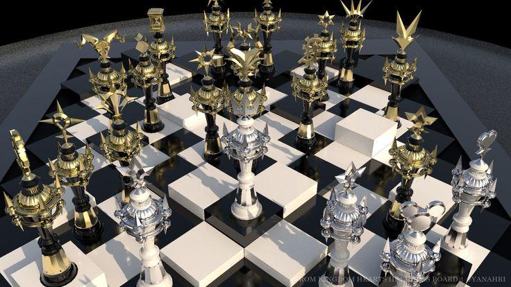Kingdom hearts iii chess board arianne may sapalaran on