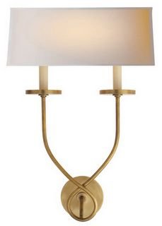 My greatroom sconces but in a gold burnish base. Mine have a dark base.