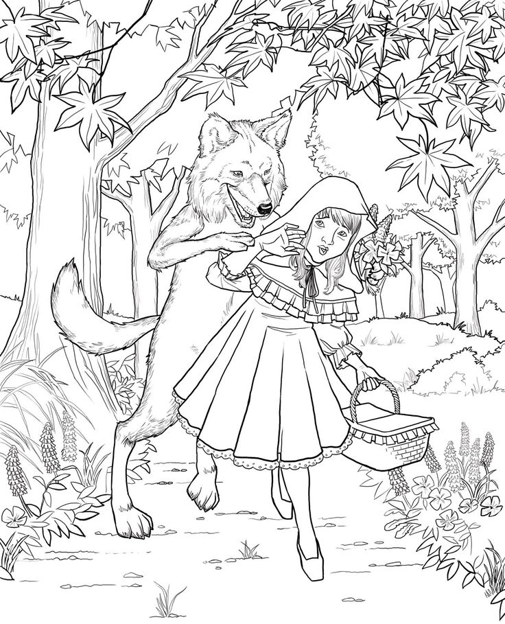 Red-Riding-Hood-Coloring-Pages (25).jpg (1275×1575)