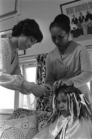 Haircutting ceremony, Porirua