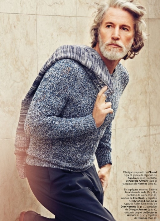 Aiden Shaw - Great look!