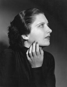 Kay Francis, WB, 1933, photo by Elmer Fryer